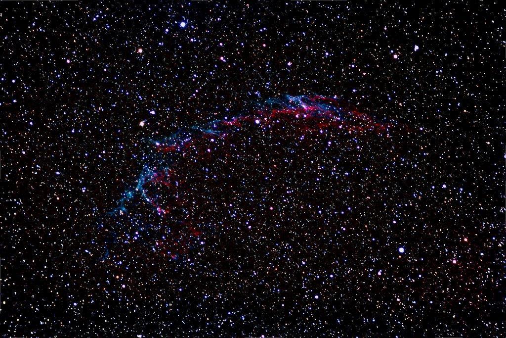 NGC 6992-6995 -RAW-161011 (Alain de Franco)